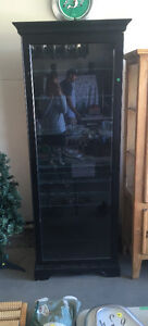 Glass display cabinet, $500 obo