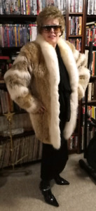White Fox and Wolf Fur Jacket