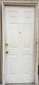 32'' FRONT DOOR AND FRAME FOR SALE