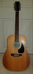 Simon and Patrick Luthier 12 String Acoustic Guitar