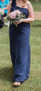 Navy Blue Bridesmaid Dress size 8