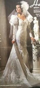 Gorgeous White Wedding Gown