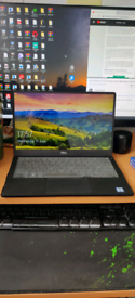 Dell XPS 13 high specs laptop with laptop bag and case