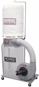 King Industrial Dust Collector 1200cfm