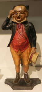 COLD PAINTED CAST IRON PICKWICK CHARACTER