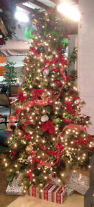 Free decorations with the purchase of a tree valued at $299 & up