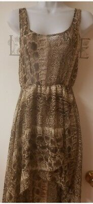dress by better b Beach dress Brown size small short in the front long
