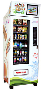 Healthy Vending Machine - $4500 each. Machines on location