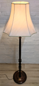 Vintage Mahogany Floor Lamp (DELIVERY AVAILABLE)