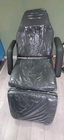 Hydraulic beauty bed / couch - dark grey - like new