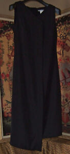 "ITALIAN DESIGNER ""SARAH PACINI"" BLACK DRESS"
