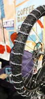 bicycle tire chain.