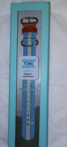 Toms Made For Apple Watch Band 42MM ~NIB
