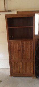 Solid wood shelving unit Stratford Kitchener Area image 2