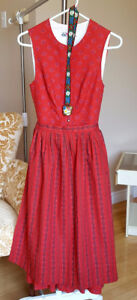 Oktoberfest Dress - Size Small with Stockings - Worn Only Once
