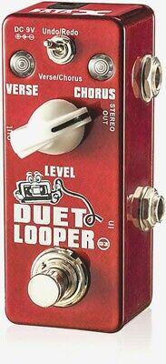 Xvive Stereo Dual Loop - Looper Pedal - Verse Chorus