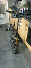 Electric scooter needs work swap for a metal detector
