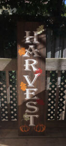 Wood Sign - Fall / Autumn Porch Board
