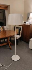 IKEA Kulla Floor Standing Lamp White High Gloss
