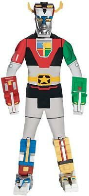 Voltron Classic Robot Nick Cartoon Fancy Dress Up Halloween Deluxe Adult - Nick Costumes