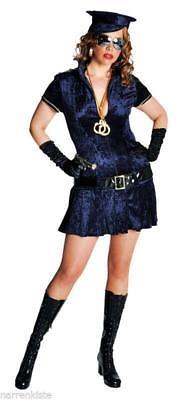 Polizist Sexy Polizistin Polizei Kostüm Kleid Uniform Damen Polizeikostüm FBI