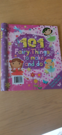 Fairy things to make book