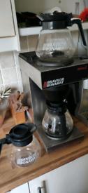 Bravilor bonamat Novo 2 coffee filter machine with 3 jugs