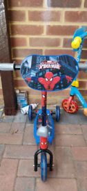 Spiderman and Paw Patrol scooter