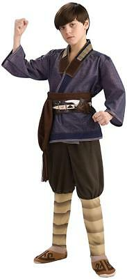 Sokka Avatar Last Airbender Warrior Fancy Dress Halloween Deluxe Child Costume (Airbender Halloween Costume)