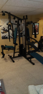 Universal Home Gym - Excellent condition