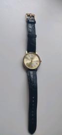 Omega geneve gold quartz dress watch