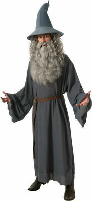 The Hobbit Gandalf Costume Adult  Halloween Wizard Witch Robe Mens Book Movie](Gandalf The Gray Costume)