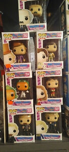 Willy Wonka funko pop collection