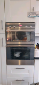 Electrolux double convecting fan oven
