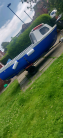 Boat engine and trailer for sale or swap