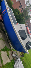 15ft boat with engine and trailer swap for a motorbike or quad