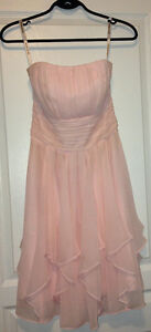 Blush David's Bridal Dress - Size 2 (Prom/Formal)