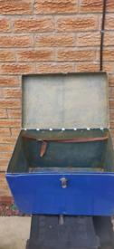 Fibreglass fishing box/seat