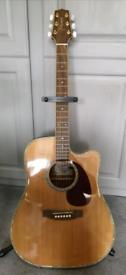 Takemine electro acoustic guitar (G series EG340DLX)