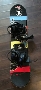 Firefly snowboard, bindings and boots