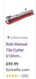 Rubi Manual Tile Cutter 610mm
