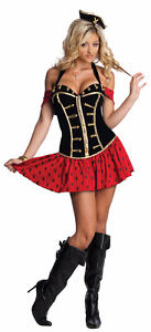"Adult ""High Seas Hunny"" Playboy Halloween Costume - Size XS-S"