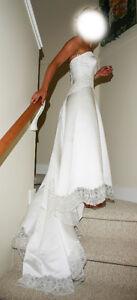 Wedding Dress Size 4 - $200