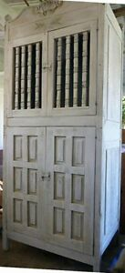 MOVING!!! Charming rustic hall or bedroom armoire. REDUCED TO -