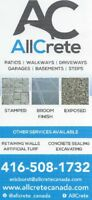 Residential Concrete Work