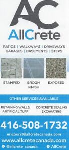 Residential/Commercial Concrete Work