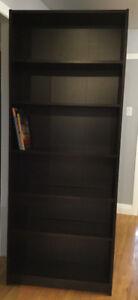 Bibliothèques / étagères Ikea brun chocolat