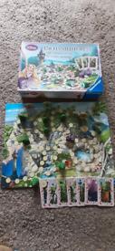 Enchanted forest rapunzel board game