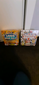 2 board games logo and best of british