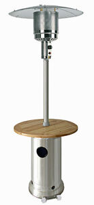Patio Heaters , Stainless Steel 8' High Propane